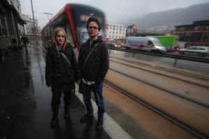 Diane Berbain og Sondre Båtstrand. Foto: Arne Halvorsen (CC BY-SA 3.0)