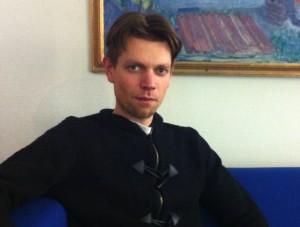 Petter Espeland, leder i Bergen MDG.